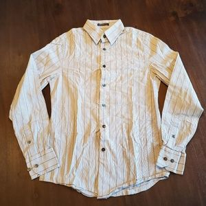 Express men's button down shirt size XS